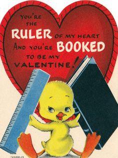 Vintage Childrens Classroom Valentines Day by RetroVintageBazaar