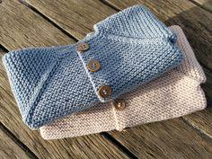 Baby Knitting Patterns, Knitted Washcloth Patterns, Knitted Washcloths, Baby Sweater Knitting Pattern, Knitting For Kids, Crochet Patterns Amigurumi, Free Knitting, Baby Cardigan, Baby Vest
