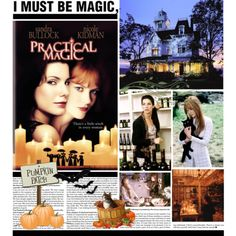 """""""Practical Magic""""  spellbinding movie Movies And Series, Movies And Tv Shows, Practical Magic Movie, Moving Movie, Best Halloween Movies, Alice Hoffman, Magick, Witchcraft, Romantic Movies"""