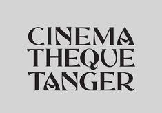 Andrea Hyde - Identité de l'exposition Cinémathèque Tanger