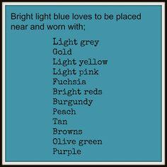 Bright Light blue