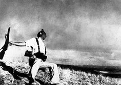Robert Capa, Loyalist Militiaman at the Moment of Death, Spanish Civil War, 5 Sep 1936