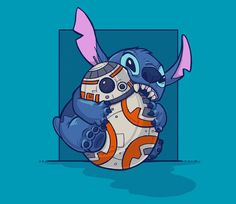 A collaboration with illustrator Karen Hallion. This design is a product of my idea and her incredible line-work and colors. Many pets are timid around a popular remote control toy, but surely there would be some creatures that are more aggressive! TeeFury #bb-8 #spherobb8 #bb8 #starwars #friki