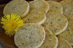The Homestead Survival | Dandelion Shortbread Gluten Free Recipe | http://thehomesteadsurvival.com