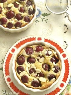 Clafoutis-cu-cirese-2 Cheesecakes, Waffles, Oatmeal, Goodies, Breakfast, Desserts, Food, Sweets, The Oatmeal