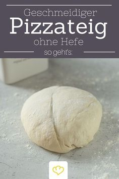 Fast pizza dough without yeast- Schneller Pizzateig ohne Hefe Does it have to go fast? Then this pizza dough without yeast is just the thing! How he gets smooth, you read here! Sandwich Recipes, Pizza Recipes, Cheesecake Recipes, Mexican Food Recipes, Fish Recipes, Egg Recipes, Paleo Recipes, Meatloaf Recipes, Meatball Recipes