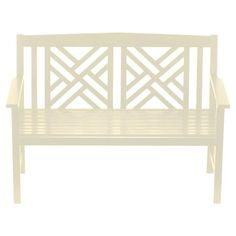 I pinned this Achla Fretwork Bench from the Massucco Warner Miller Interior Design event at Joss & Main!