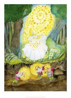 Illustration zu Märchen der Gebrüder Grimm