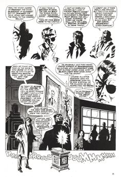 "Nick Fury, Agent of SHIELD in ""Dark Moon Rise, Hell Hound Kill"" pencilled by Jim Steranko and inked by Dan Adkins, Page 18. (Reprinted from UK Captain Britain.)"