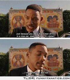 Will Smith movie quote from Men In Black 3...I love will he can do no wrong