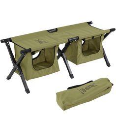 DOPPELGANGER OUTDOOR (ドッペルギャンガーアウトドア) 略してDOD。 散らかりがちなキャンプグッズをシート下にスッキリ収納。大容量収納のアウトドアベンチ。 #キャンプ #アウトドア #テント #タープ #チェア #テーブル #ランタン #寝袋 #グランピング #DIY #BBQ #DOD #ドッペルギャンガー