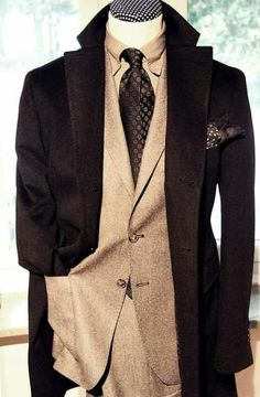A sharped dressed man!