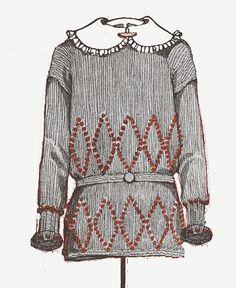 1920s flapper sleeveless dress knitting pattern by foreverantique