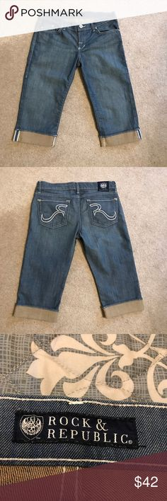 Rock & Republic Size 27 Rock & Republic Jeans Ankle & Cropped