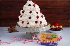 Choinka bezowa z żurawiną i białą czekoladą -6 Baking, Cake, Sweet, Food, Candy, Bakken, Kuchen, Essen, Meals