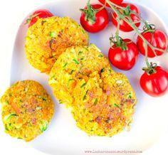 Knusprige Quinoa - Zucchini Patties (GF &Vegan) von www.lasharonesse.wordpress.com