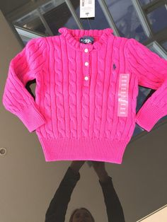 Ralph Lauren Baby Cable Knit Jumper
