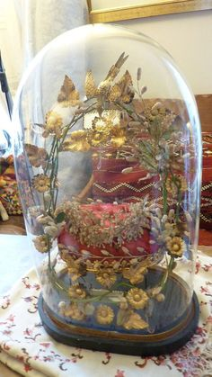 Antique French Globe de Mariee by franglais on Etsy