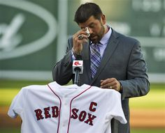 Jason Varitek! One of the best!  Oddd not seeing him out on the field this year!