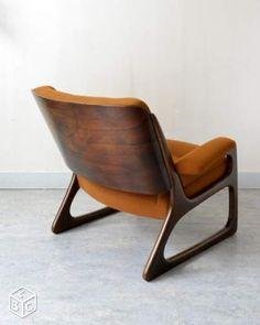 Paire de fauteuil baumann vintage 1971 Ameublement Paris - leboncoin.fr