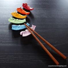 Crazy Korean Shopping - Colorful Fish 6 Piece Flatware Rest Set, 24.00 USD (http://www.crazykoreanshopping.com/colorful-fish-6-piece-flatware-rest-set/)