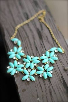 Tiffany blue necklace