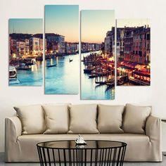 Картины в интерьере: Цвет картины может выбираться по схемам.