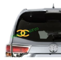 CC's Car Decal High Quality Outdoor Vinyl - Whimsical Embroidery Designs - 1