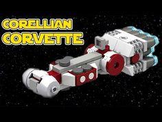 Lego Star Wars CR90 Corellian Corvette (Micro)