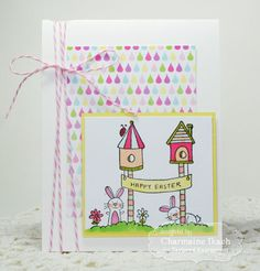 Happy Easter Card by Charmaine Ikach #Cardamking, #TEMatched, #Easter, #ShareJoy, #TE