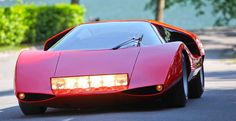 Fiat Abarth 2000 Scorpione, concept by Pininfarina Fiat Abarth, My Dream Car, Dream Cars, Concept Cars, Vintage Cars, Automobile, Abs, Vehicles, Supercar