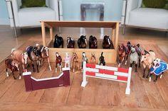 Classic Breyer Horses Barn and Jumps | eBay
