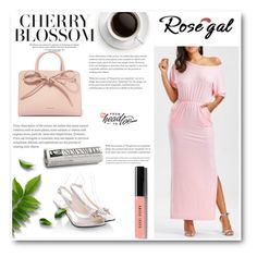 """Rosegal 27"" by nedim-848 ❤ liked on Polyvore featuring Mansur Gavriel and Bobbi Brown Cosmetics"