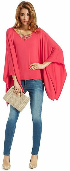 GUESS by Marciano Flutter-Sleeve Top on shopstyle.com