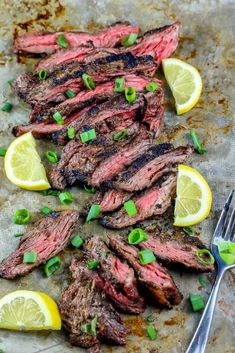 The Best Garlic Grilled Flank Steak Recipe - Sweet Cs Designs Good Steak Recipes, Skirt Steak Recipes, Flank Steak Recipes, Grilled Steak Recipes, Grilling Recipes, Beef Recipes, Cooking Recipes, Batch Cooking, Water Recipes