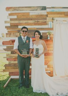 rustic wedding ceremony decor | photo by Rock the Image | 100 Layer Cake
