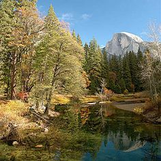 Top wow spots of Yosemite | Merced River from Sentinel Bridge