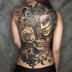 back tattoos for women (180)