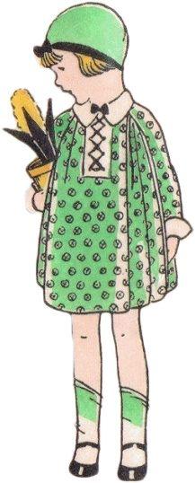 **FREE ViNTaGE DiGiTaL STaMPS**: Free Vintage Image Download - 1930's Little Girl