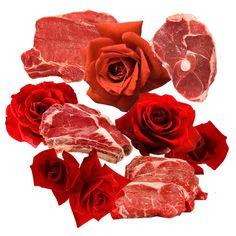 rose meat Art Print by christina zayats