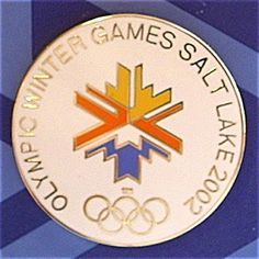 Time Was Antiques 2002 Winter Olympics, Usa Olympics, Summer Olympics, City Logo, Usa Usa, University Of Utah, Winter Games, Pin And Patches, Salt Lake City