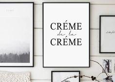 Crème de la Crème Print Creme De La Creme Fashion