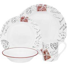 "Corelle ""Sincerely Yours"" @ walmart.com #corelle #corelledining #dinnerware"