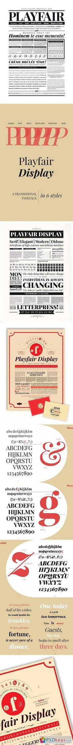 22 Best playfair display images in 2018   Fonts, Display