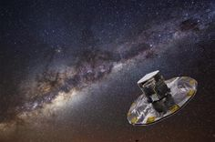 Europe launches billion-dollar Milky Way telescope (Update) By repeating the observations as many as 70 times throughout its mission, Gaia can help astronomers calculate the distance, speed, direction and motion of these stars and build a 3-D map of our section of the galaxy.  Read more at: http://phys.org/news/2013-12-europe-billion-dollar-milky-telescope.html#jCp
