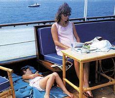 Jackie and Caroline Kennedy. JBK pregnant with Patrick Bouvier Kennedy