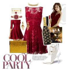 """""""#Cocktail🍷#Christmas🎄 #Party🎊"""" by minabellinha ❤ liked on Polyvore featuring Fishbowl, Zuhair Murad, Anne Klein, Oscar de la Renta, Sophia Webster, Charlotte Russe, Judith Leiber, Chanel and Marc Jacobs"""