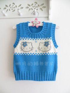 Ravelry: Argyle Vest pattern by Patons Knitting Patterns Boys, Knitting For Kids, Knitting Designs, Baby Patterns, Baby Boy Cardigan, Baby Vest, Diy Crafts Knitting, Knit Vest Pattern, Baby Boy Blankets