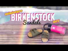 by request: There are two types of people in the world . people who Love Birkenstocks . and people who Love Birkenstocks! XD Make these miniature . Barbie Shoes, Barbie Dolls, Barbie Stuff, Doll Stuff, Barbie Hair, Fun Diy Crafts, Doll Crafts, Diy Doll, Diy Ken Doll Clothes