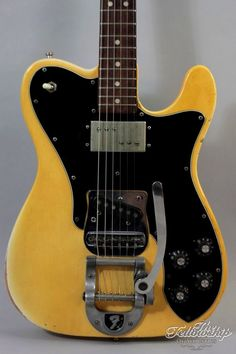 '72 Telecaster Custom with Bigsby